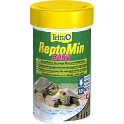 Корм 100мл Tetra ReptoMin Baby для молодых черепах (140158) - фото 10001