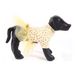 Платье 40М JOY сердечки для собак - фото 10360