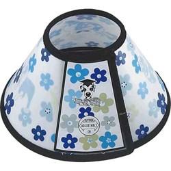 """Воротник ветеринарный """"Цветы"""" 16x7.5x9.5см Шурум-Бурум для собак (Р702) - фото 10958"""