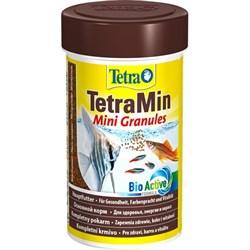 Корм 100мл TetraMin Mini Granules для мелких рыб (199057) - фото 11567
