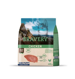 Корм 400г BRAVERY PUPPY курица для щенков мелких пород (04PE004002) - фото 4653