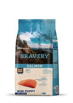 Корм 400г BRAVERY PUPPY лосось для щенков мелких пород (04PE004003) - фото 4655