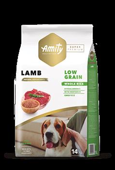 Корм 14кг AMITY SUPER PREMIUM LOW GRAIN ягненок для собак (04PE140003) - фото 4663