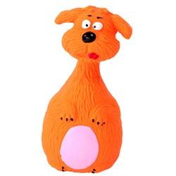 Собака 13см Шурум-Бурум латесная игрушка для собак (LT15026-new) - фото 4790
