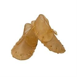 Жевательный ботинок 12,5см 2шт/уп Жуйка из сыром.кожи для собак (90908D) - фото 4855