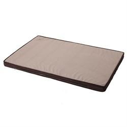 Матрас 116х75х8см JOY большой для собак коричневый - фото 4868