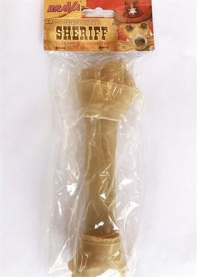 Кость узловая 20см БРАВА ШЕРИФ для собак (157979) - фото 4967