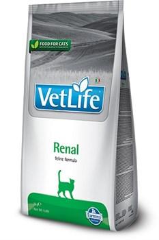 Корм 400г Vet Life Renal для кошек при почечной недостаточности (4392) - фото 5034