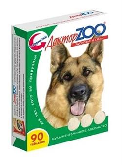 Доктор ZOO 90тб Здоровье и красота мультивитаминное лакомство для собак (ZR0251) - фото 5091