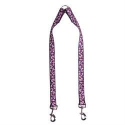 Сворка 25мм х 50см JOY стропа пурпурная плитка для собак - фото 5169