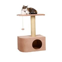 Домик Аврора 50х30х75см JOY цвет карамель для кошек - фото 5189