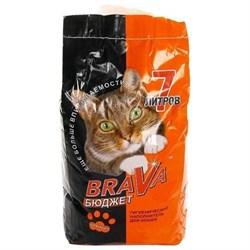 Наполнитель 7л BRAVA БЮДЖЕТ минеральный для кошек (90373) - фото 5342