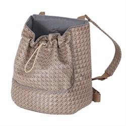 Рюкзак-переноска мини 27х13х28см JOY из искусственной кожи для собак - фото 5468