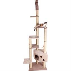 Домик Небоскреб 242-270см JOY из ткани для кошек - фото 5489