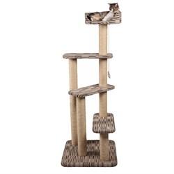 Домик Лесенка 60х60х165см JOY из ковролина для кошек - фото 5636