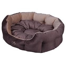 Лежанка круглая 60х50х21см JOY Кристалл для собак - фото 5737