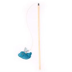 Удочка Рыба Кит 50см JOY для кошек - фото 5802