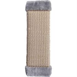 Когтеточка большая плетеная сизаль 50х15см Шурум-Бурум серая для кошек - фото 6071
