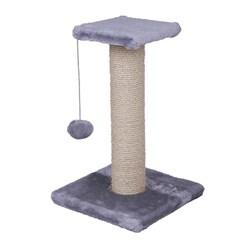 Когтеточка большая на подст.50х30х30см Шурум Бурум серая для кошек - фото 6075