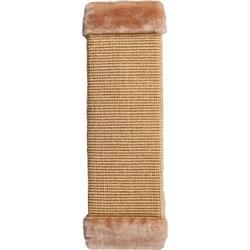 Когтеточка большая плетеная сизаль 50х15см Шурум-Бурум бежев. для кошек - фото 6085
