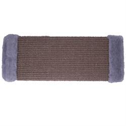 Когтеточка большая плетеная сизаль 50х15см Шурум-Бурум темно-серая.д/к - фото 6086