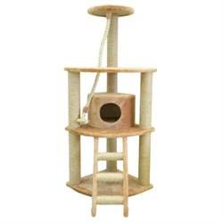 Домик угловой четырехуровневый Шурум-Бурум для кошек - фото 6143