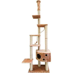 Домик Небоскреб 242-270см Шурум-Бурум для кошек - фото 6144