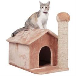 Домик-Избушка 54х36х50см Шурум-Бурум для кошек - фото 6159
