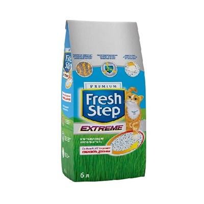 Наполнитель 6л Fresh Step минеральный для кошек (008/018199) - фото 6227