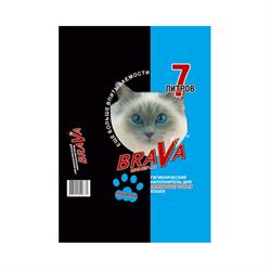 Наполнитель 7л Брава минеральный для длиннош.кошек (12441) - фото 6233