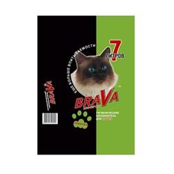 Наполнитель 7л Брава минеральный для кошек (12439) - фото 6237