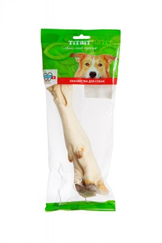 Нога баранья 120 TITBIT лакомство для собак мягкая упаковка (0627) - фото 6812