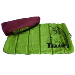 Подстилка для собак Touchdog 75х45см зеленая (TDBD1065G) - фото 7037