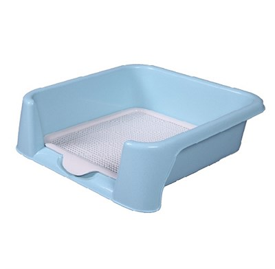 Туалет 42х42х15см Шурум-Бурум голубой для собак (Р587) - фото 7209