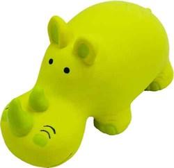 Носорог 20см латексная игрушка для собак (56003) - фото 7301
