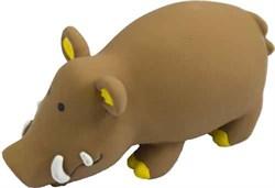 Кабан 20см латексная игрушка для собак (56103) - фото 7303