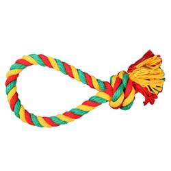 Веревка-Петля 40см JOY текстильная игрушка для собак - фото 7330