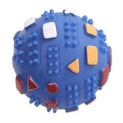 Мяч пупырчатый 7см Шурум-Бурум виниловая игрушка для собак (VT121018) - фото 7361