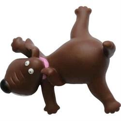Собака 13см Шурум-Бурум виниловая игрушка для собак (VT 122089) - фото 7383