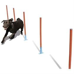 """Снаряд для аджилити """"Слалом"""" для собак (СА1241) - фото 7405"""