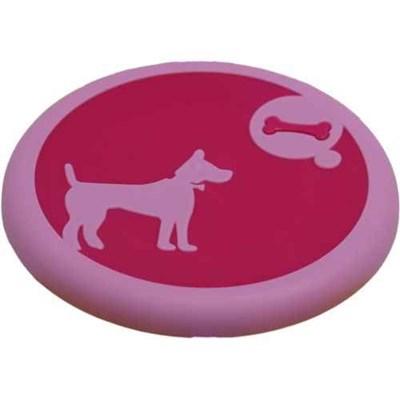 Диск Пёс 23,6х21,9х2см пластмассовая игрушка для собак (Р941) - фото 7418