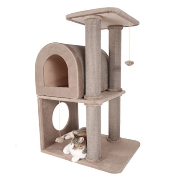 Домик Саквояж 62х50х94см JOY для кошек - фото 7811
