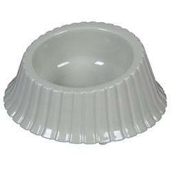 Миска 500мл пластиковая для собак (Р1215-1) - фото 7916