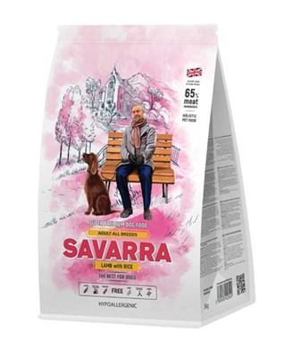Корм 3кг SAVARRA ягненок/рис для собак  (5649051) - фото 8006