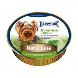 Корм 85г Хеппи Дог ягненок,рис для собак (71498) - фото 8162