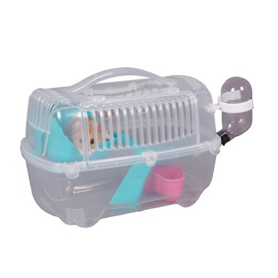 Клетка 14,7х27,4х16,6см Шурум-Бурум пластиковая для грызунов (Р1236) - фото 8473
