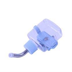 Поилка 118мл Шурум-Бурум синяя пластиковая для грызунов (Р1241) - фото 8475