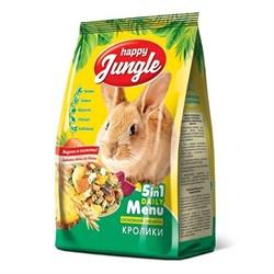 Корм 400г HAPPY JUNGLE для кроликов  (J110) - фото 8513