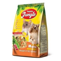 Корм 400г HAPPY JUNGLE для мышей и песчанок  (J116) - фото 8516