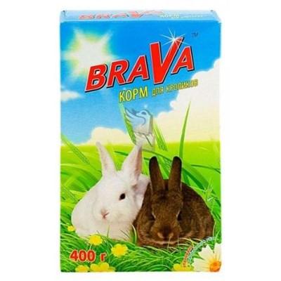 Корм 400г BRAVA для кроликов - фото 8538